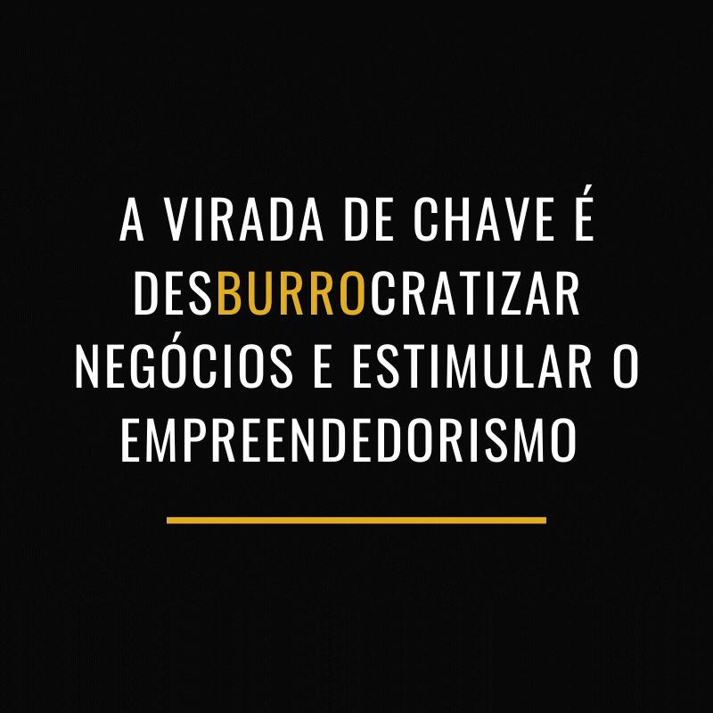 Desburocratizar o empreendedorismo